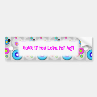 HONK IF YOU LOVE _________ BUMPER STICKER