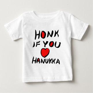 Honk If You Love Hanukha Baby T-Shirt