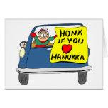 Honk If You Love Hanukkah Greeting Card