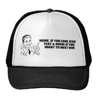 Honk if you love Jesus Hats