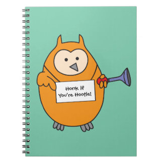 Honk if You're Hootie Owl Journals