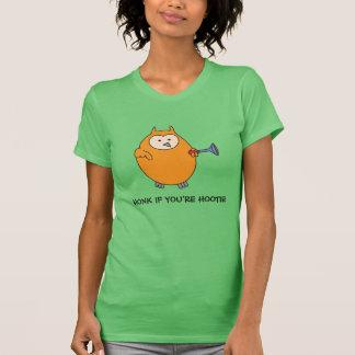 Honk if You're Hootie Owl T Shirt