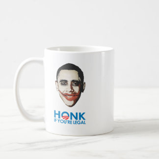 HONK if you're legal Coffee Mug