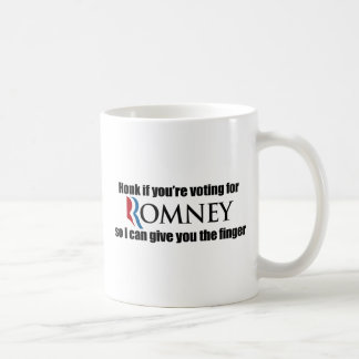 HONK IF YOU'RE VOTING FOR ROMNEY.png Coffee Mug