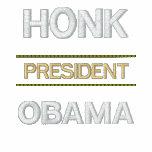 Honk President OBAMA Embroidered Hooded Sweatshirt