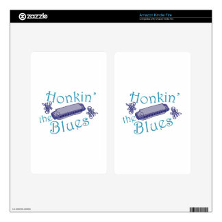 Honkin The Blues Decal For Kindle Fire