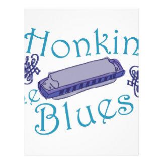 Honkin The Blues Letterhead