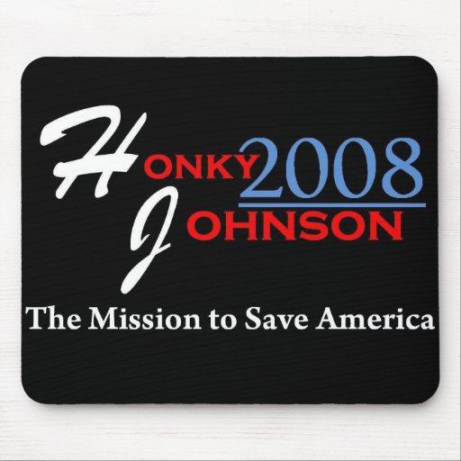 Honky Johnson Mousepad 2008 Tapetes De Ratones