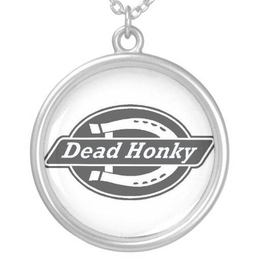 honky muerto collares personalizados