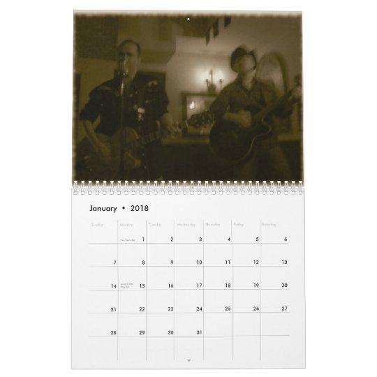 Honky Tonk calendar