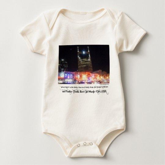 Honky Tonk Merch Baby Bodysuit