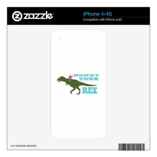 Honky Tonk Rex iPhone 4 Skin