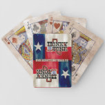Honky Tonk Texas Flag Bicycle Playing Cards