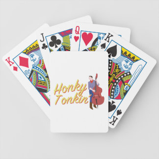 Honky Tonkin Bicycle Playing Cards