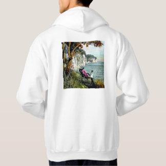 Honmoku Cliffs of Mississippi Bay Old Japan Geisha Hoodie