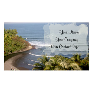 Honoli'i Beach Business Card Template