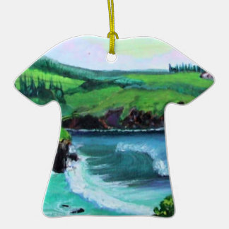 "Honolua Bay ""the Cave"" aloha shirt ornament"