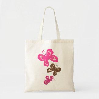 Honolua Butterfly Cartoon Tote Bags