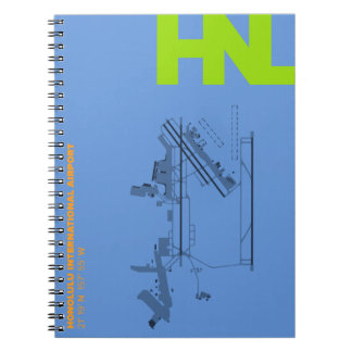 Honolulu Airport (HNL) Diagram Notebook