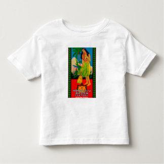 Honolulu Broom Handle LabelHonolulu, HI T Shirt