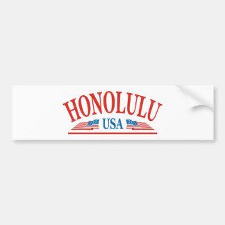 Honolulu Bumper Sticker