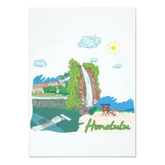 Honolulu Card