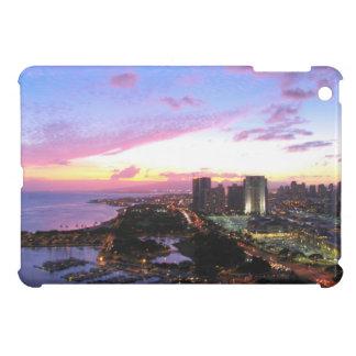 Honolulu cityscape Hawaii sunset Case For The iPad Mini