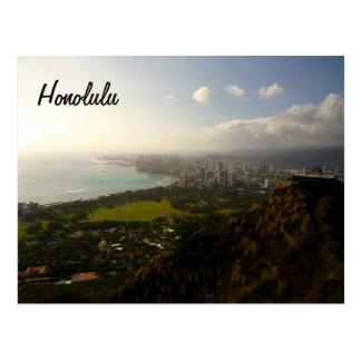 Honolulu de Le'ahi Tarjeta Postal