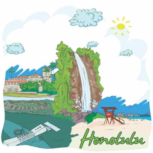 Honolulu Fotoescultura Vertical