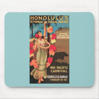 Honolulu, Hawaii 6th Annual Floral Parade 1911 Mouse Pad