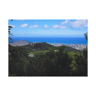 Honolulu, Hawaii Canvas Print
