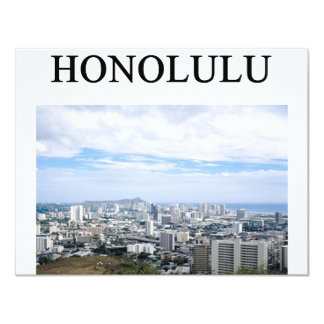 HONOLULU hawaii Card