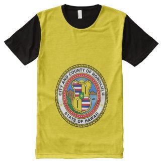 Honolulu Hawaii  city flag Shirt