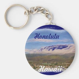 Honolulu Hawaii keychain