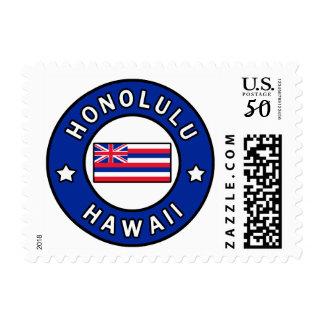 Honolulu Hawaii Postage