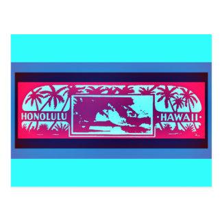 HONOLULU HAWAII POSTCARD