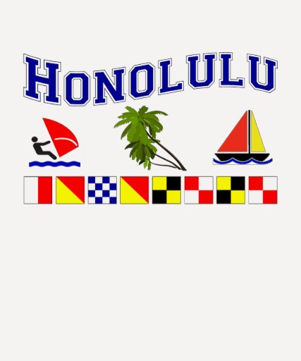 Honolulu, HI Camisetas