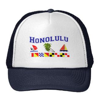 Honolulu, HI Trucker Hat
