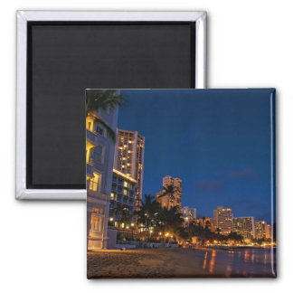 Honolulu, Oahu, Hawaii. Exposición de la noche de Iman