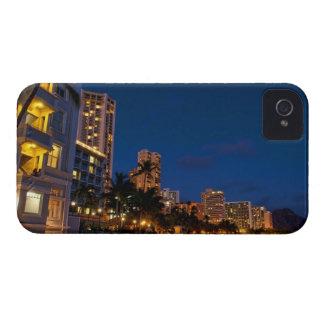 Honolulu, Oahu, Hawaii. Night exposure of Case-Mate iPhone 4 Case