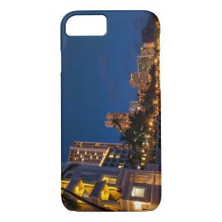 Honolulu, Oahu, Hawaii. Night exposure of iPhone 7 Case