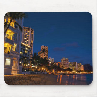 Honolulu, Oahu, Hawaii. Night exposure of Mouse Pad