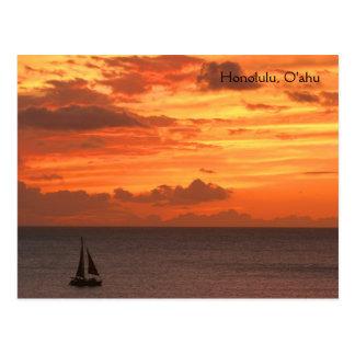 Honolulu, O'ahu Postcard