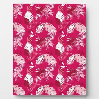 Honolulu Pink Plaque