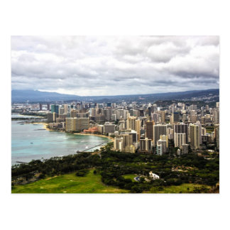 Honolulu Postcard