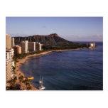 Honolulu Skyline Postcard