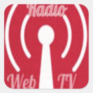 Honor America Radio/ Web TV Promo Irems Square Sticker