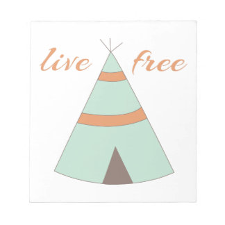 Honor American Indian heritage with a sweet teepee Memo Note Pads