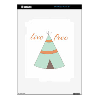 Honor American Indian heritage with a sweet teepee iPad 2 Skin