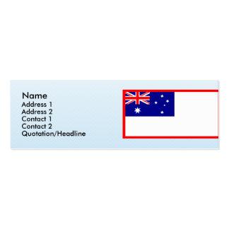 Honor australiano Australia Tarjetas De Visita